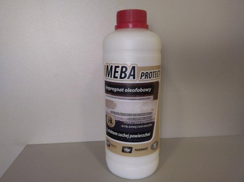 MEBA MAX- kostka brukowa impregnacja
